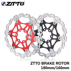 ZTTO-MTB-Montana-Bicicleta-de-Carretera-Bicicleta-180-160mm-disco-de-freno-flotante-Rotor-7075-al