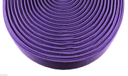 0,80 €//m 2m banda de goma en color tejidos 2cm 20mm de ancho muchos colores nuevo