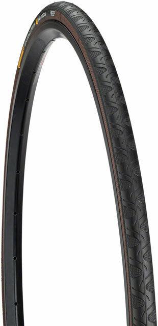 Continental Gran Premio 4season Tire 700x28 Pieghevole Nervatura Nero