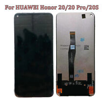 HEGUANGWEI Replacement Parts LCD Screen and Digitizer Full Assembly for Huawei Honor 20 Pro Black Color : Black Cell Phone LCD Screen Accessories