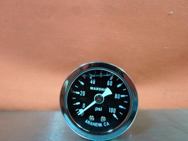 Marshall Instruments MS00100 Fuel Pressure Gauge