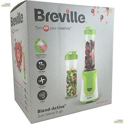 Breville Blend-Active Personal Fruit Smoothie Blender - 300 Watt - White/Green