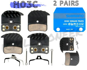 Shimano H03C Disc Brake Pads Saint Zee BR M820 M640 M8020 Resin Metal FIN Pad Se