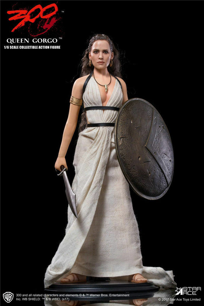 1/6 Scale Star Ace Toys 300: Queen Gorgo Female Action Figur Box Set SA-0038
