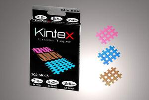 102-STUCK-ORIGINAL-KINTEX-KINESIOLOGY-TAPE-CROSSTAPE-MIX-BOX