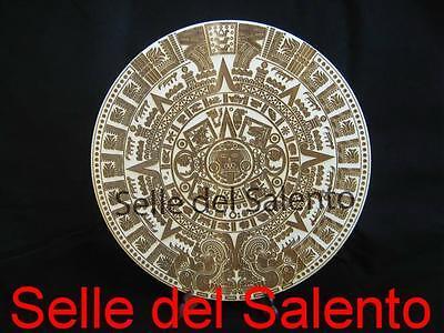 2019 Moda Calendario Azteco Maya Pietra Del Sole In Legno Incisione Laser
