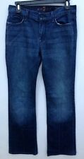 Womens 7 Seven For Mankind Dark Jeans High Waist Bootcut Sz 28 30x30 P1