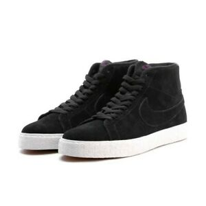 4477aa9b0 Details about Nike SB Zoom Blazer Mid Deconstructed UK 13 EUR 48.5 Black  Pro Purple AH6416 001