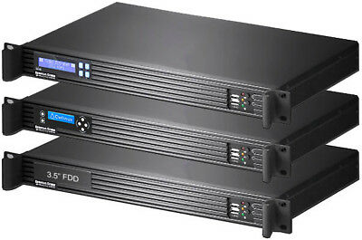 "riser Case New 3.5"" Open Bay ss-250su rackmount Chassis depth:9.84"" Hospitable 1u Itx"