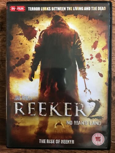 1 of 1 - Desmond Askew Rise of REEKER 2: NO MAN'S LAND ~ 2008 Cult Horror Sequel UK DVD