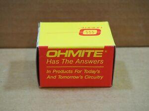 Ohmite-rhs5k0-Drahtwiderstaende-Rheostat-25-Watt-5-5000k-500v-Std-Potentiometer
