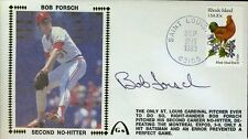 BOB FORSCH SIGNED JSA CERTIFIED 1983 NO HITTER FDC AUTHENIC AUTOGRAPH