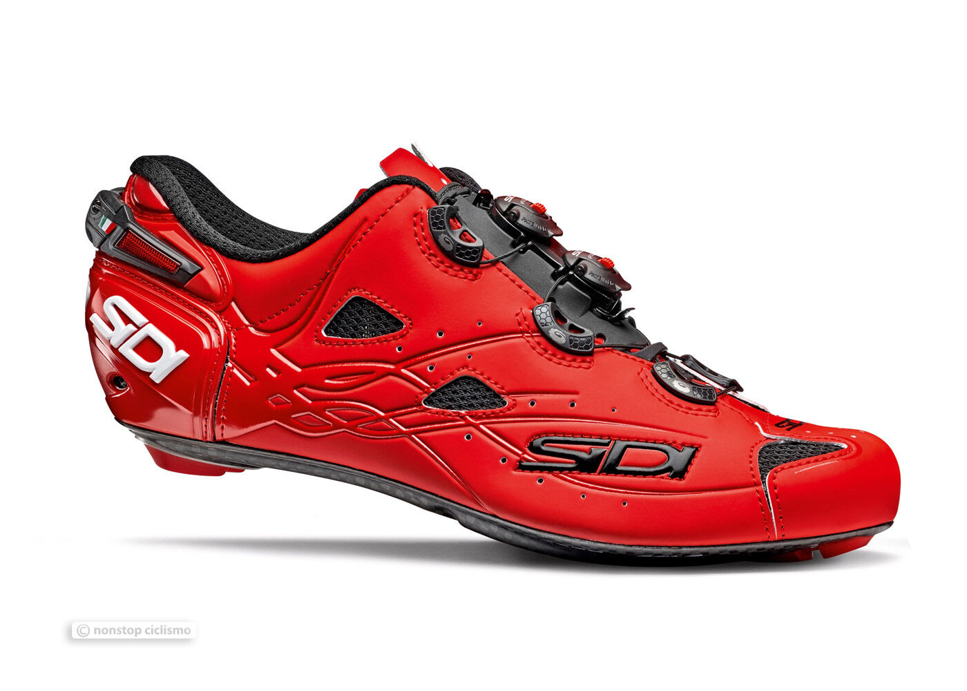 Sidi SHOT Carbon Road Cycling shoes   MATTE RED
