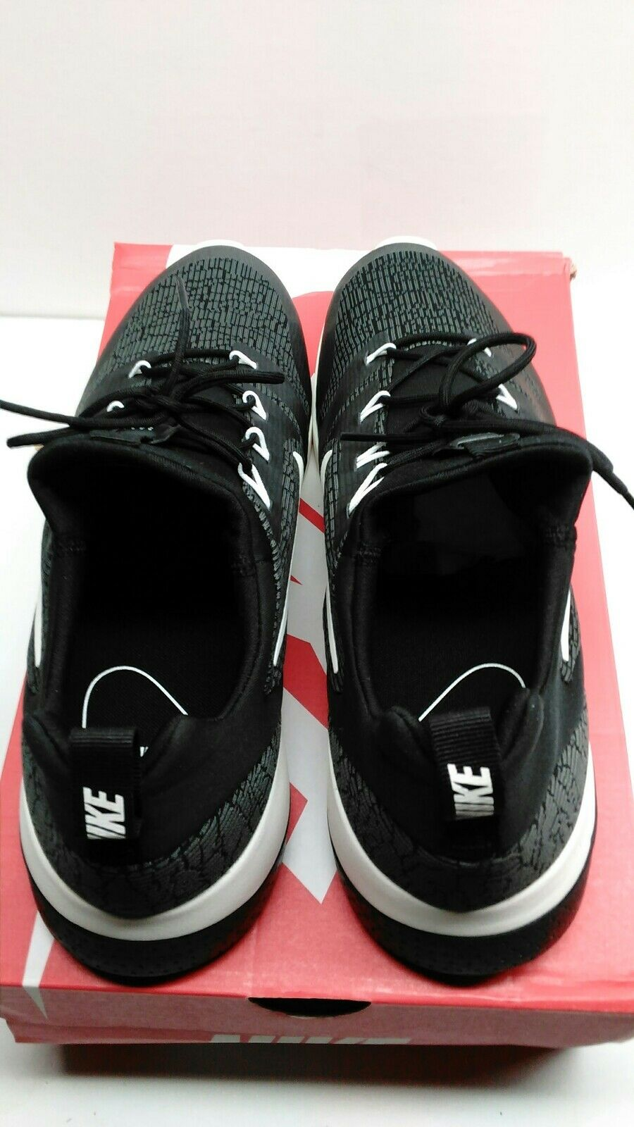 40e641609284 ... NIB MENS SIZE 12 NIKE CK RACER SNEAKERS Black Black Black and White  916780-001 ...