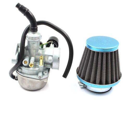 Carb 50cc 70cc 90cc 110cc 125cc ATV Dirt Bike Go Kart Carburetor /& Air Filter@