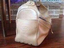 JP Tod's  Tan Leather handbag side zip pouch