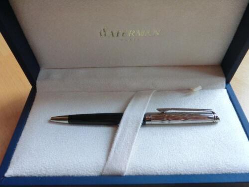 mit Box Etui NEU Waterman Hemisphere de luxe  Kugelschreiber lackschwarz C.C