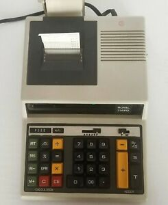 Royal-216PD-Vintage-Electronic-Calculator-Adding-Machine-w-Cover-Tested