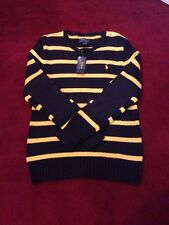 NWT Boys Youth POLO Ralph Lauren Rugby Long Sleeve Sweater (Large 14-16)