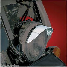 "Suzuki C50 & C90 Boulevard - Chrome 7""smooth motorcycle headlight""VISOR""#53-429"