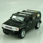 Hummer H2 1:40 Model Car SUV Alloy Diecast Black Pull back function gift Toy New