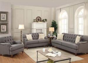 Acme Furniture Alianza Dark Gray Sofa And Loveseat Ebay
