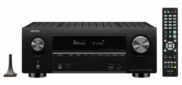 Denon AVRX3600H 9.2 Channel AV Receiver With Voice Control
