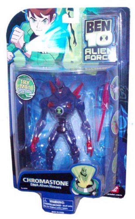 BEN 10 Alien Force CHROMASTONE 6 Inch Bandai New Factory Sealed 2008