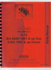Hough H 70 Pay Loader Parts Manual Catalog
