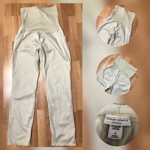 Liz-Lange-Women-Casual-Formal-Maternity-Pants-Khaki-Size-8