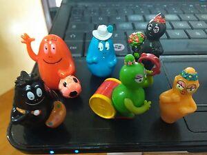 barbapapa 6 personaggi mini - Italia - barbapapa 6 personaggi mini - Italia