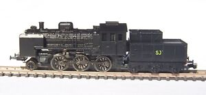 Z-scale-Freudenreich-KIT-Swedish-class-L5-steam-engine-locomotive