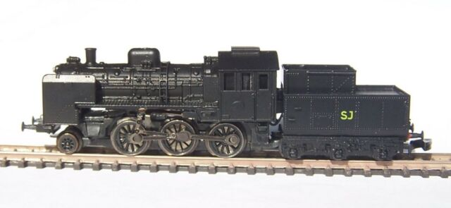 Z-scale Freudenreich KIT Swedish class L5 steam engine locomotive