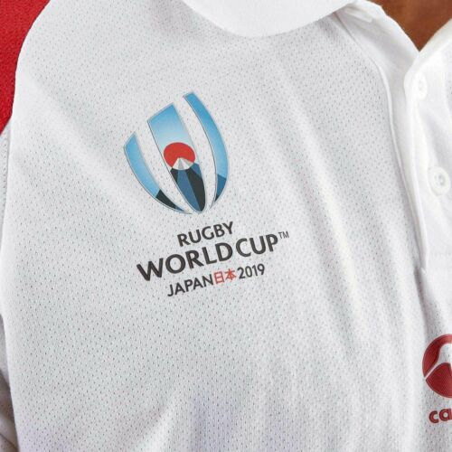 Official Canterbury England Rugby World Cup Japan 2019 Men/'s Polo Shirt