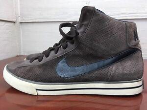 661f8430 Nike Sweet Classic High Top Brown Suede Sneakers 354701-201 Mens ...