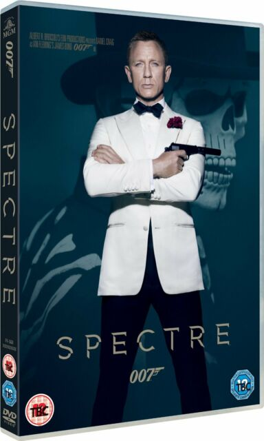SPECTRE (BOND 24) - DVD FILM