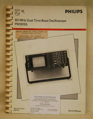 Elektronik & Messtechnik Philips PM3267 PM3267U Oscilloscope ...