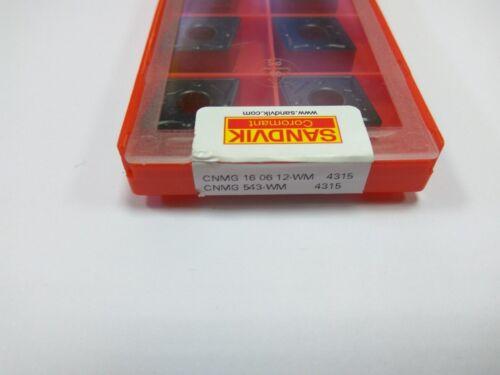 10PC SANDVIK original insert CNMG160612-WM 4315 CNMG 543-WM 4315