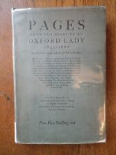 Pages from the Diary of an Oxford Lady 1843-1862 Edited by M. Jeune Gifford