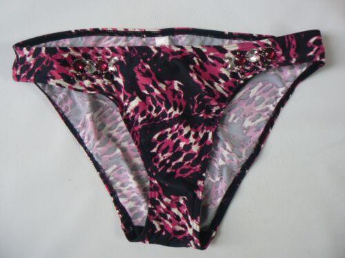 24 NEW RESORT Embellished Hipster Bikini Bottoms UK Size 12-20