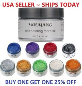 Unisex-DIY-Hair-Color-Wax-Mud-Dye-Cream-Temporary-Modeling-9-Colors-Mofajang