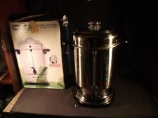 Delonghi Dcu62 20 60 Cup Commercial Stainless Steel Coffee Maker Percolator Drip