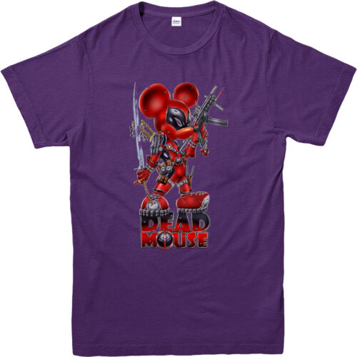 Deadpool T-Shirt,Dead Mouse T-Shirt,Inspired Gift Top,Adult and Kids Sizes