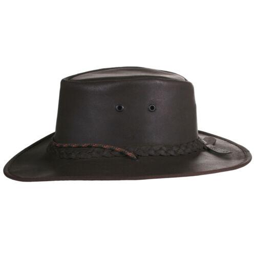 Cuir Chapeau de cowboy//Outback//Aussie Style meilleure qualité fabriqué à la main Afrique du Sud