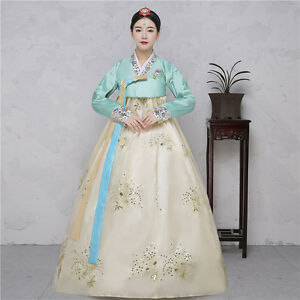 Image Is Loading Hanbok Dress Korean Traditional National Costumes