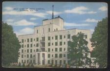 POSTCARD GADSDEN AL/ALABAMA HOLY NAME OF JESUS HOSPITAL BUILDING 1930'S