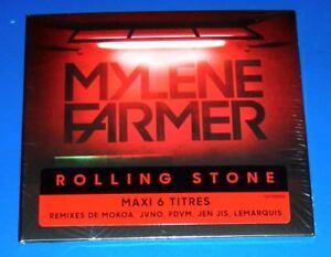 MYLENE-FARMER-Rolling-Stone-CD-maxi-single-6-tracks-digifile-SEALED-2018