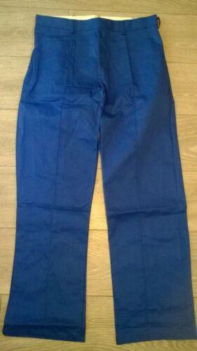 "Mens tough trousers Royal blue Work wear Waist 50/"" TR277 nurse Driver etc NEW"