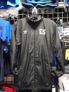 Umbro El Salvador Black Windbreaker Jacket 20-21 Size S Men's Only