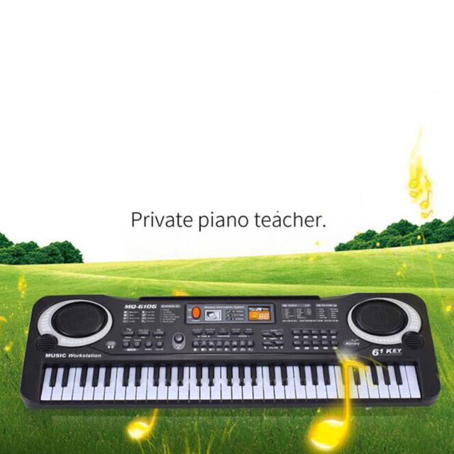 61 Keys Digital Music Electronic Keyboard Key Board Electric Piano Kids Gift HM1
